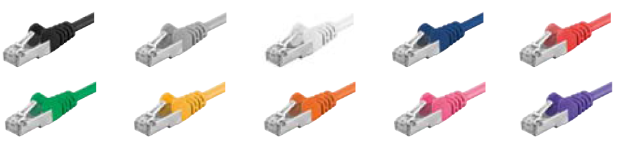 CABLES SFTP CAT5E COLORES